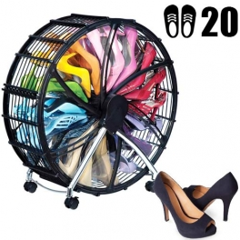 Spinning Shoe Rack Shoes
